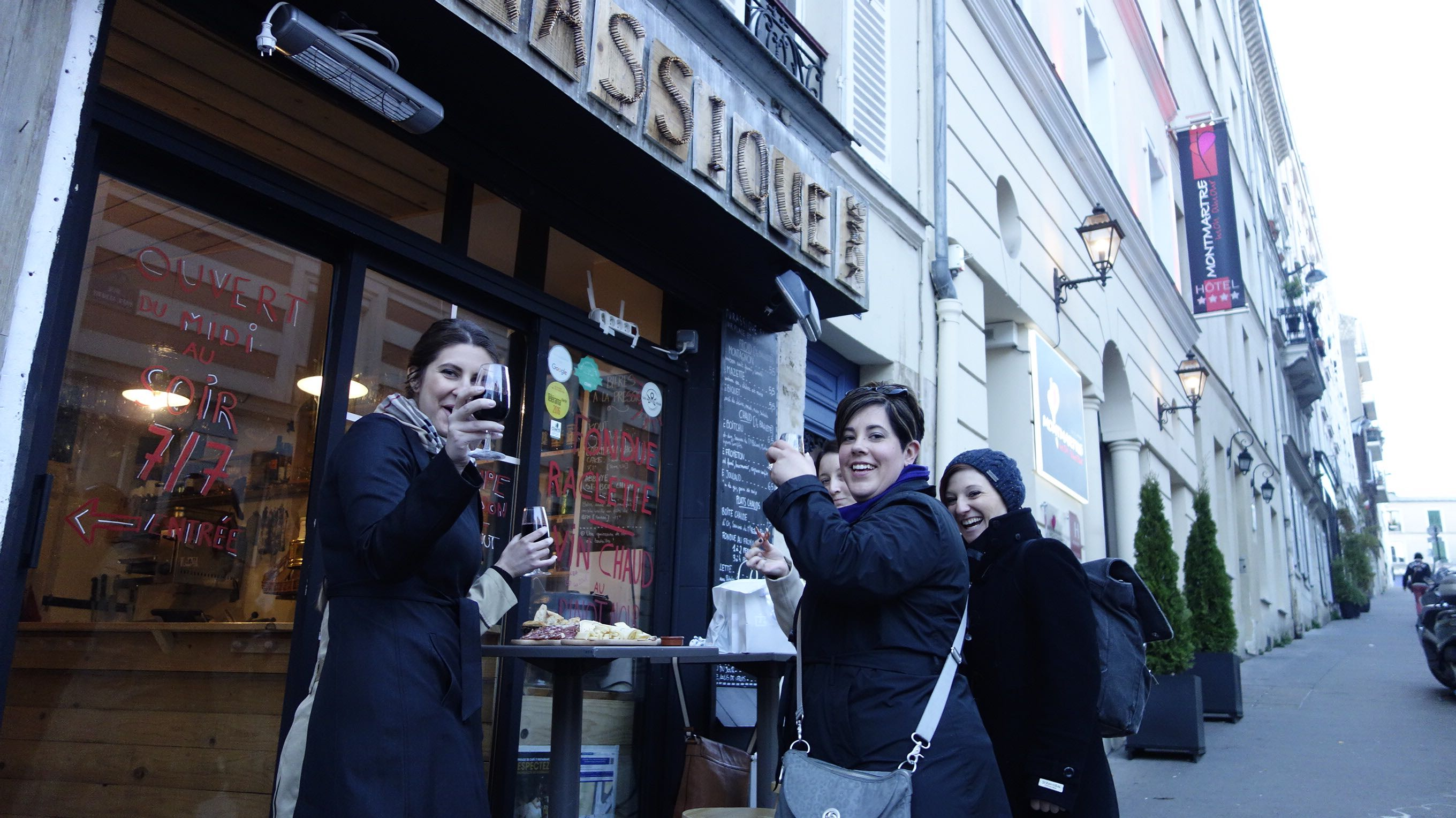 jurassique wine and cheese bar review paris