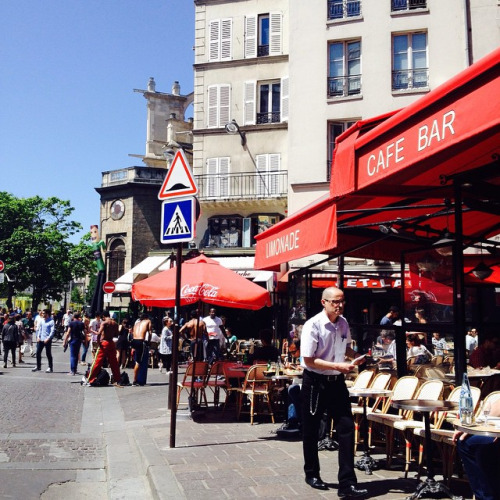 Cafe Etienne Marcel paris