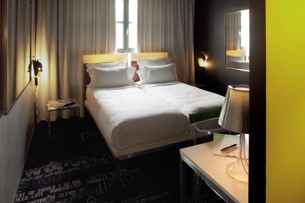 hotel in gambetta area of paris