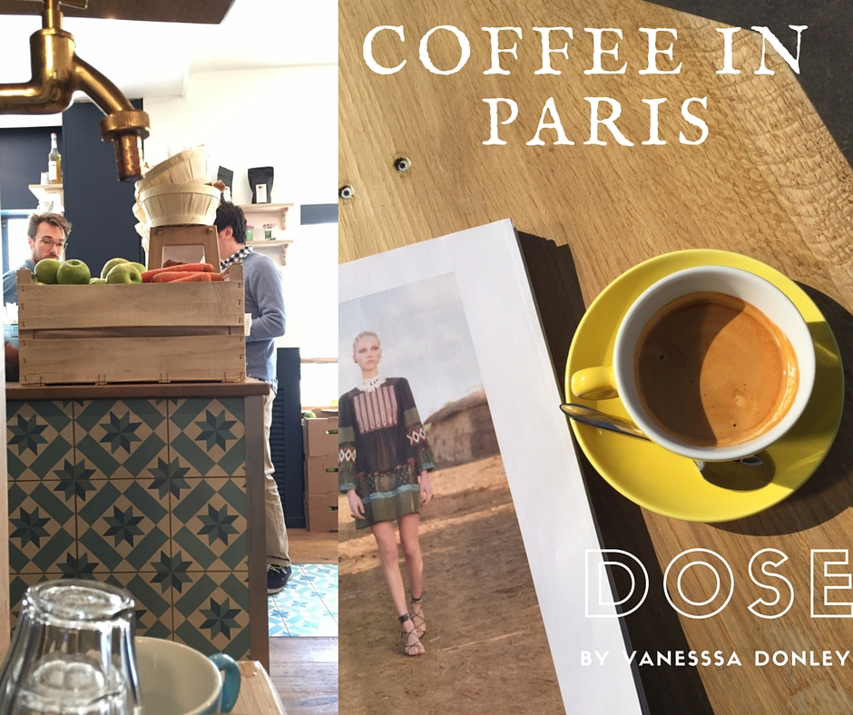 Dose coffee shop wifi english paris