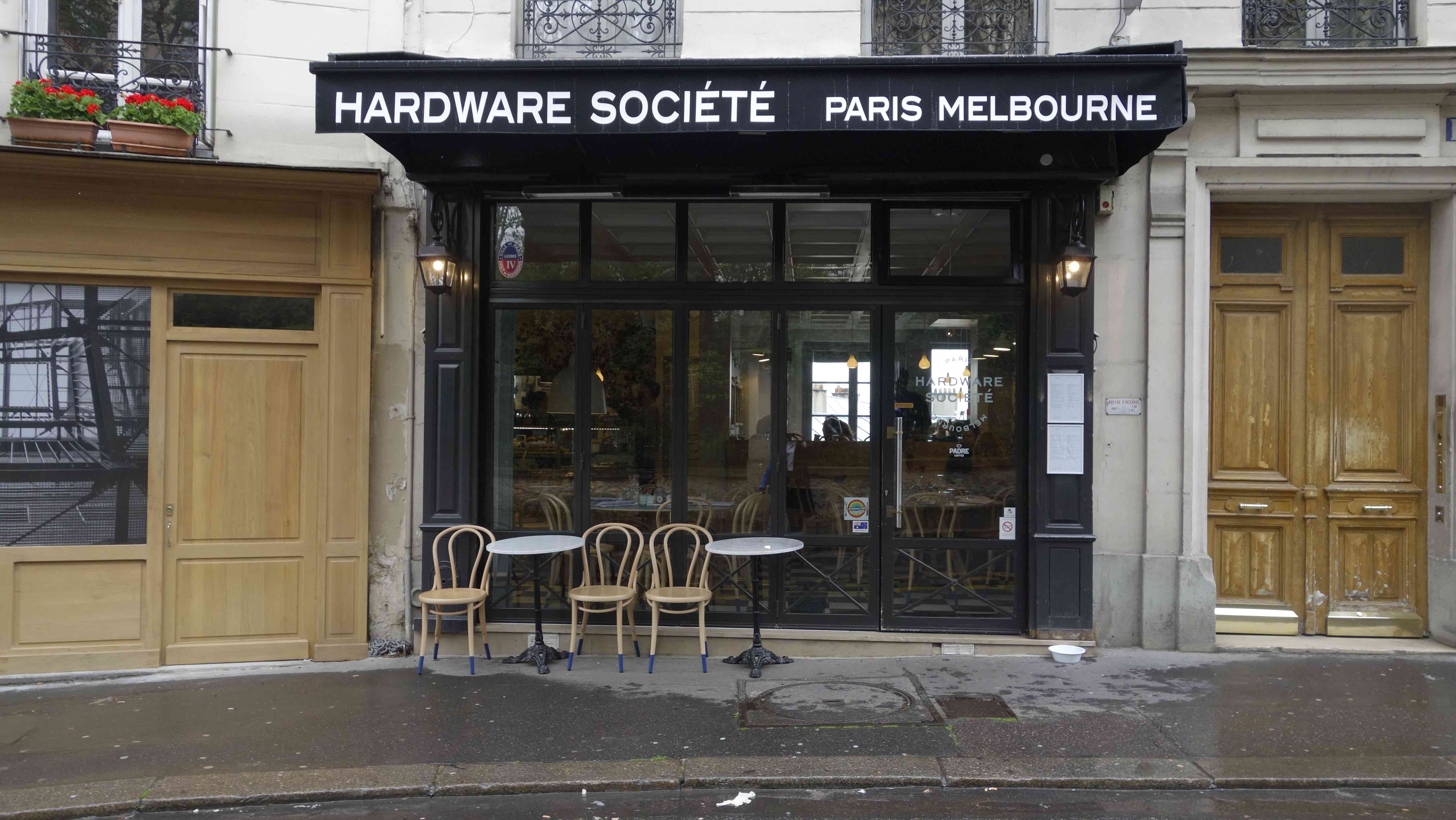 hardware societe paris photos new coffee shop