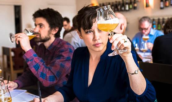 nicole tasting nitch blog paris beer week