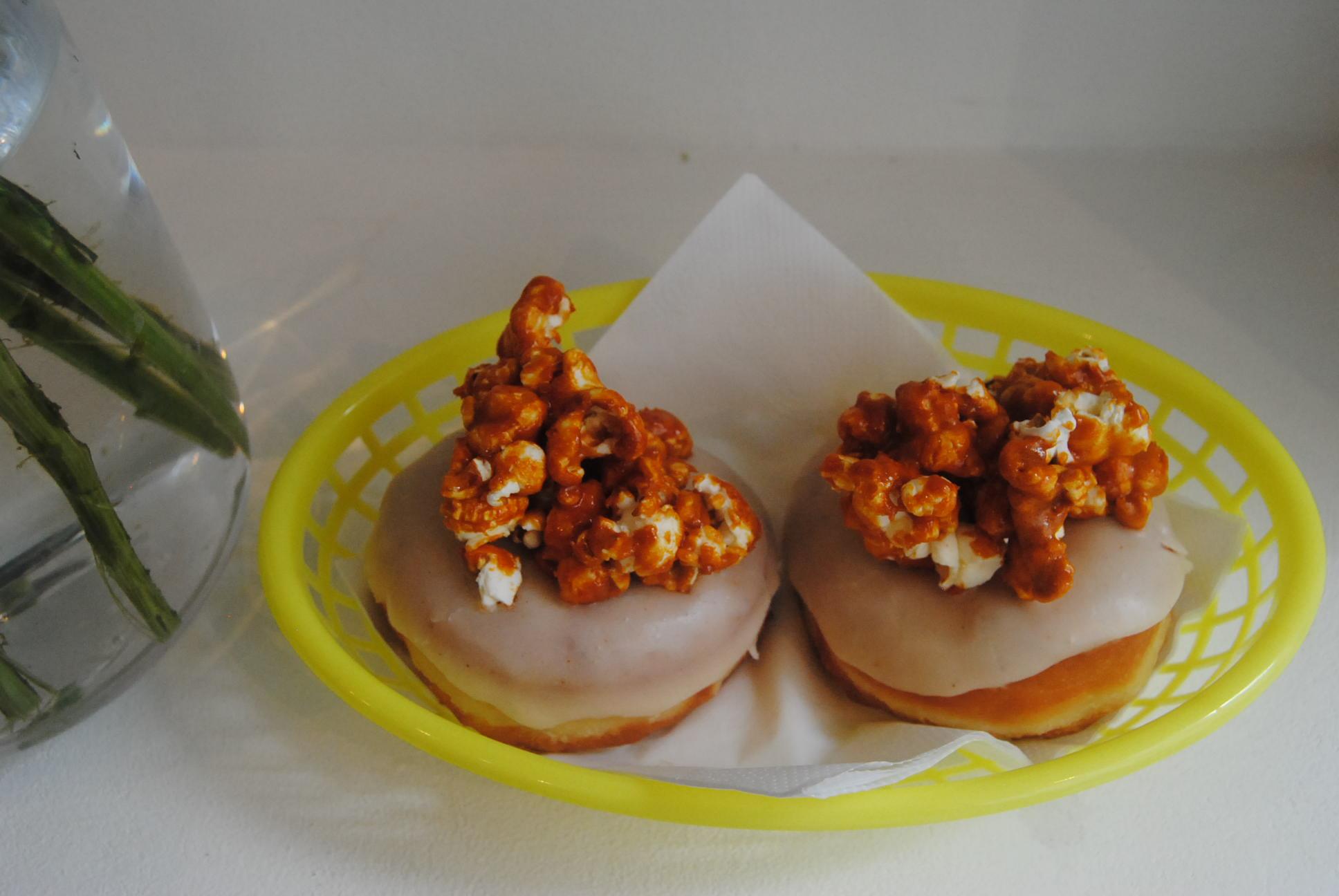 Boneshaker caramel donuts yummy