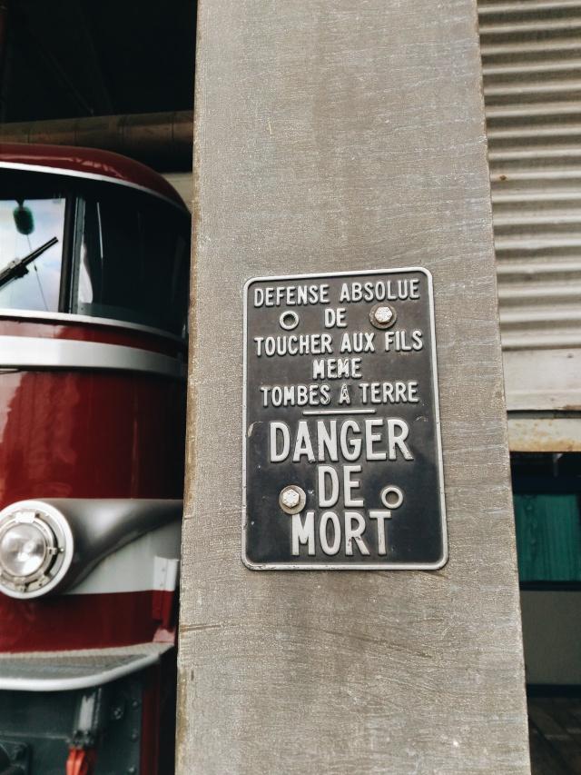 old paris train sign