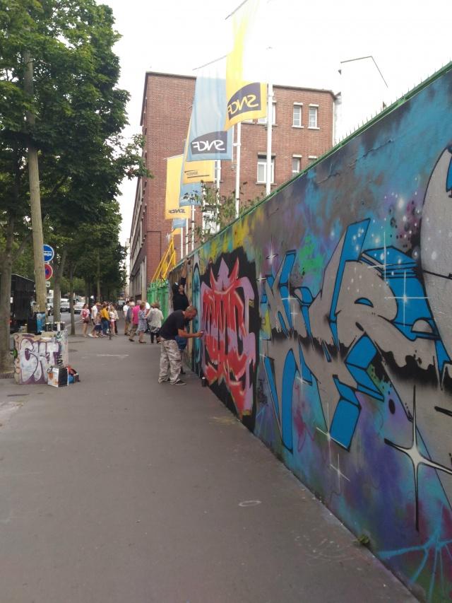 graffiti wall paris 75018