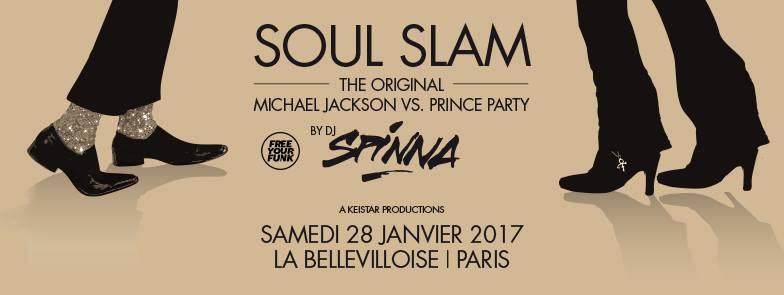 soul slam la bellevilloise paris party