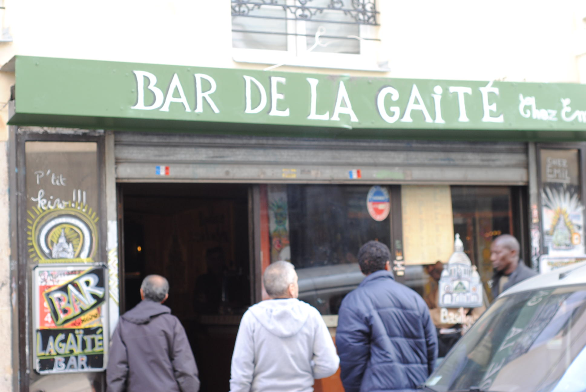 old bar de la gaite paris rue myrha