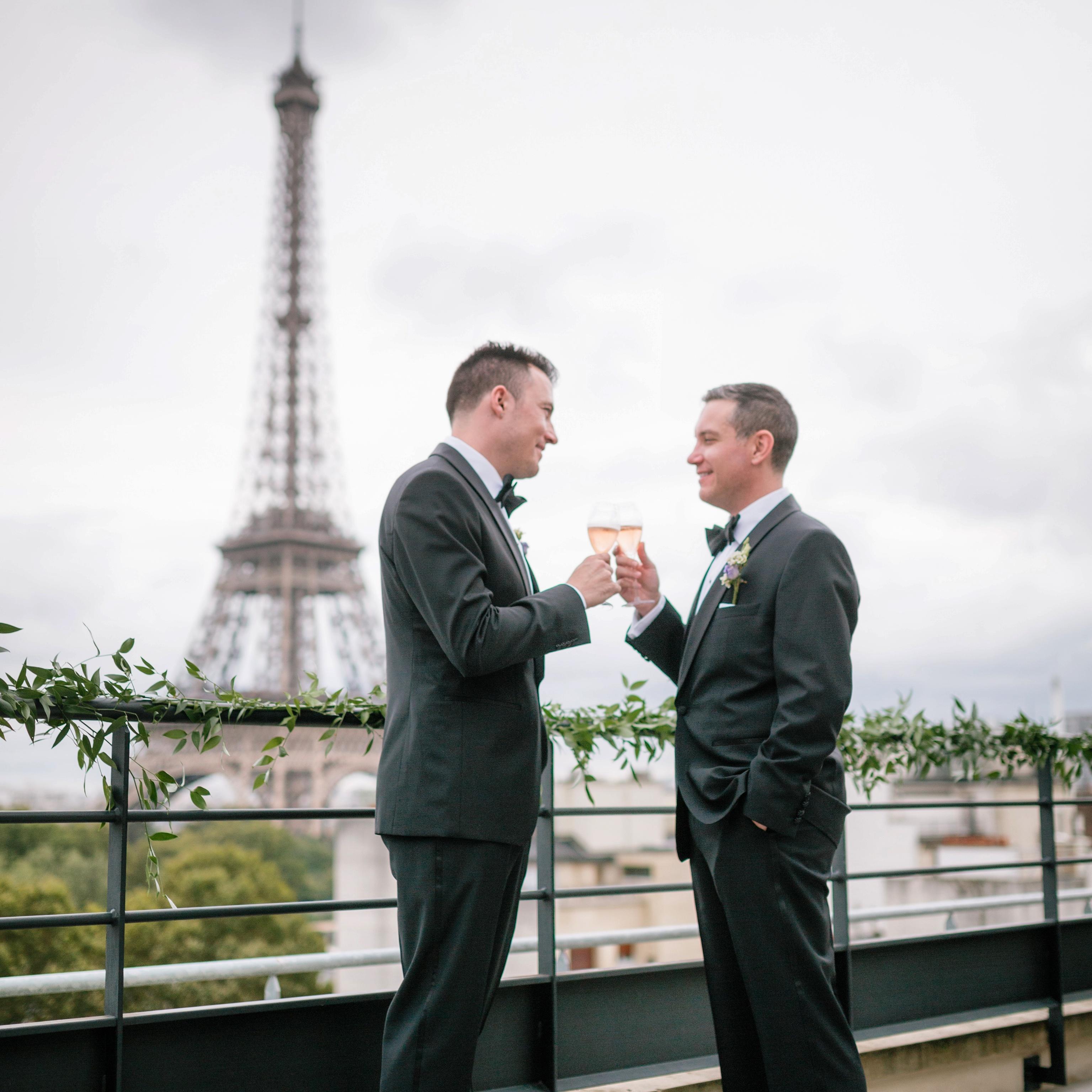 wedding in paris shangri la hotel