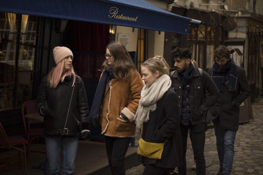 women of paris food tour spring break