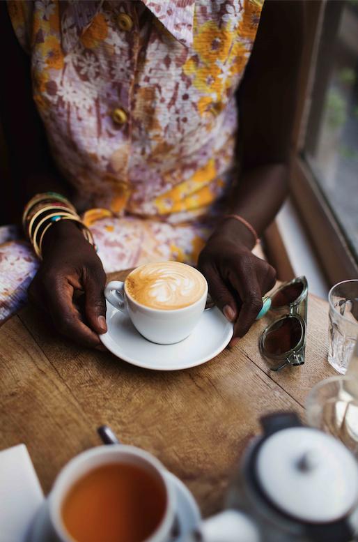 coffee shops in paris by Yanique