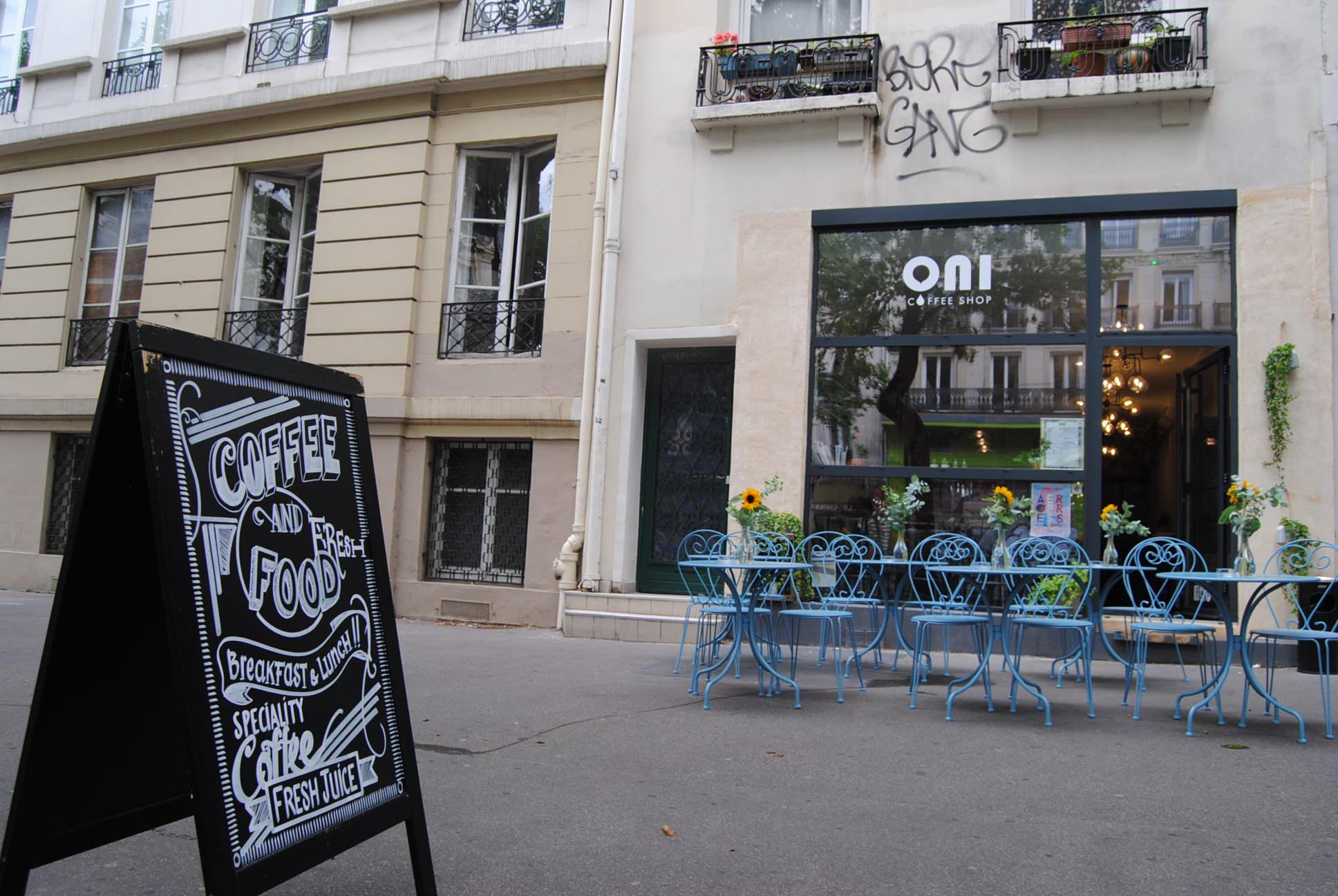 oni coffee shop paris