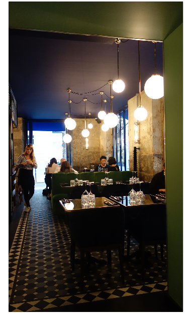 inside decor dinner marais les foodies paris