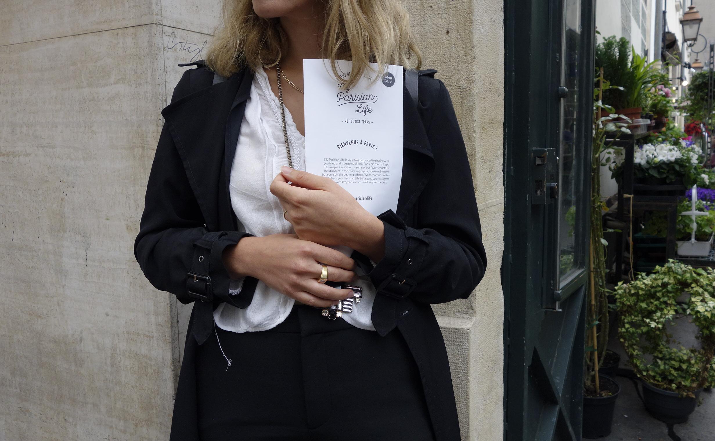 paris city guide map trendy hipster hotspot