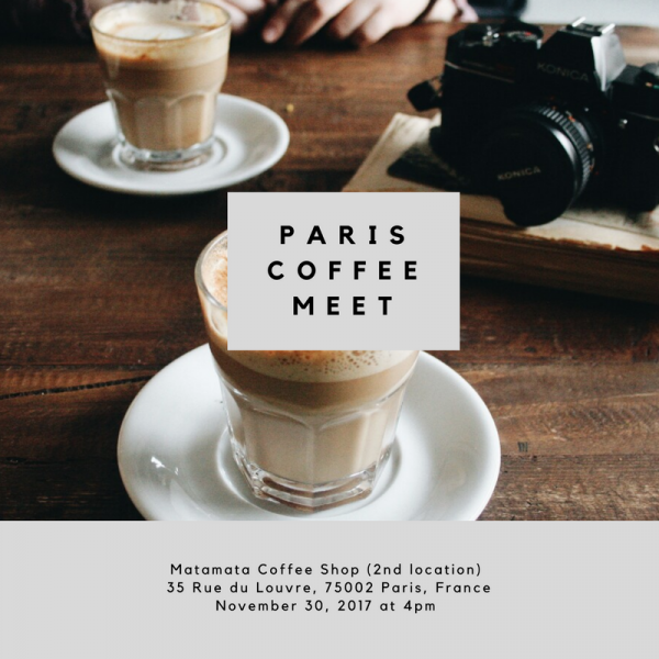 November coffee meet up paris