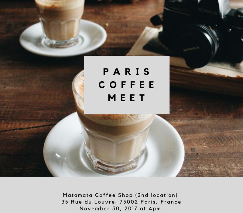 November coffee meet up paris