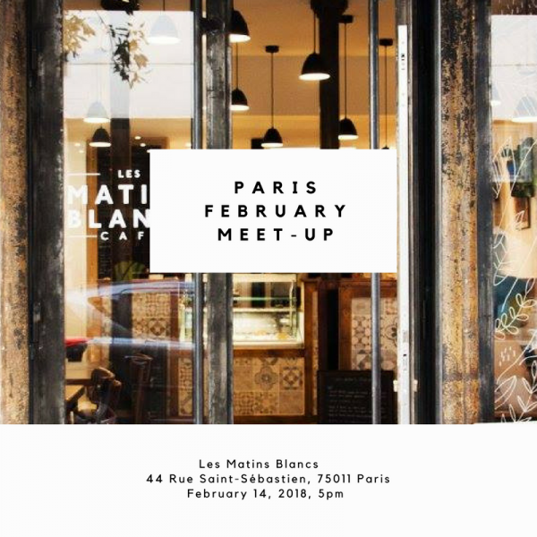 February Meet up in paris