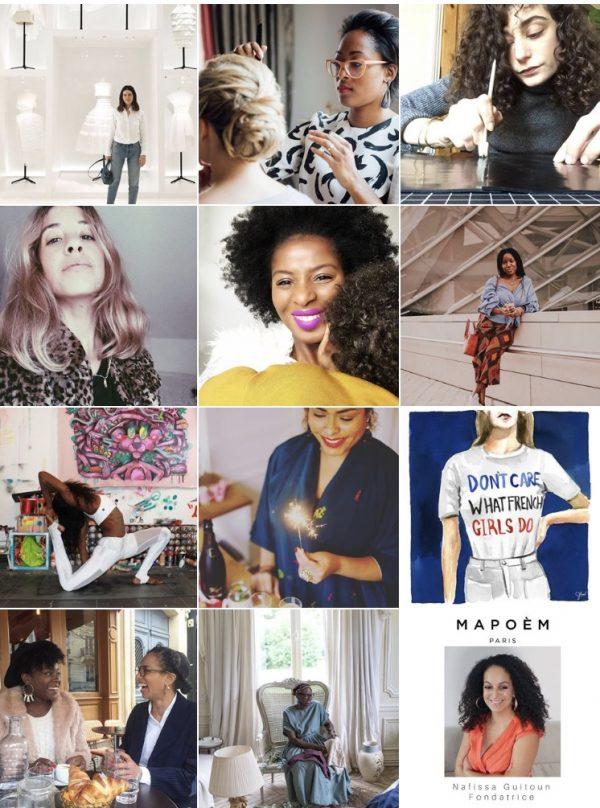 Women of paris instagram by Yanique 2