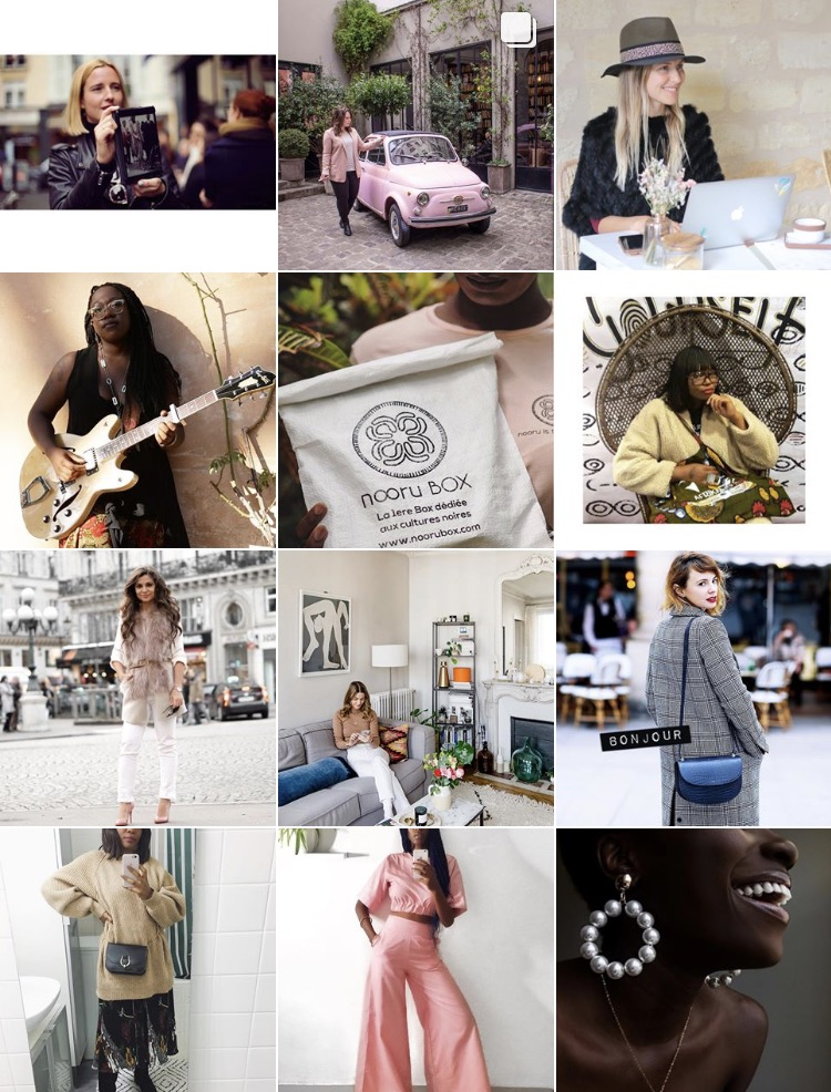 Women of paris instagram by Yanique