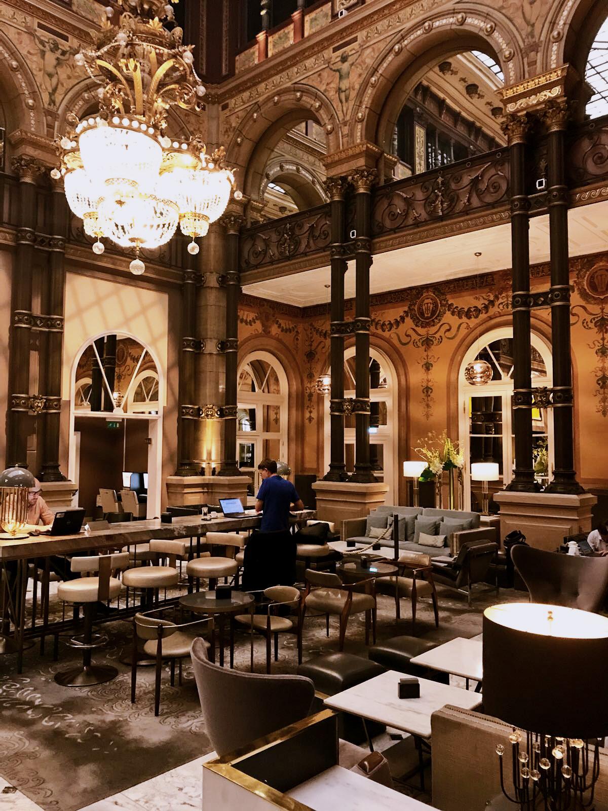 hilton paris opera hotel grand salon
