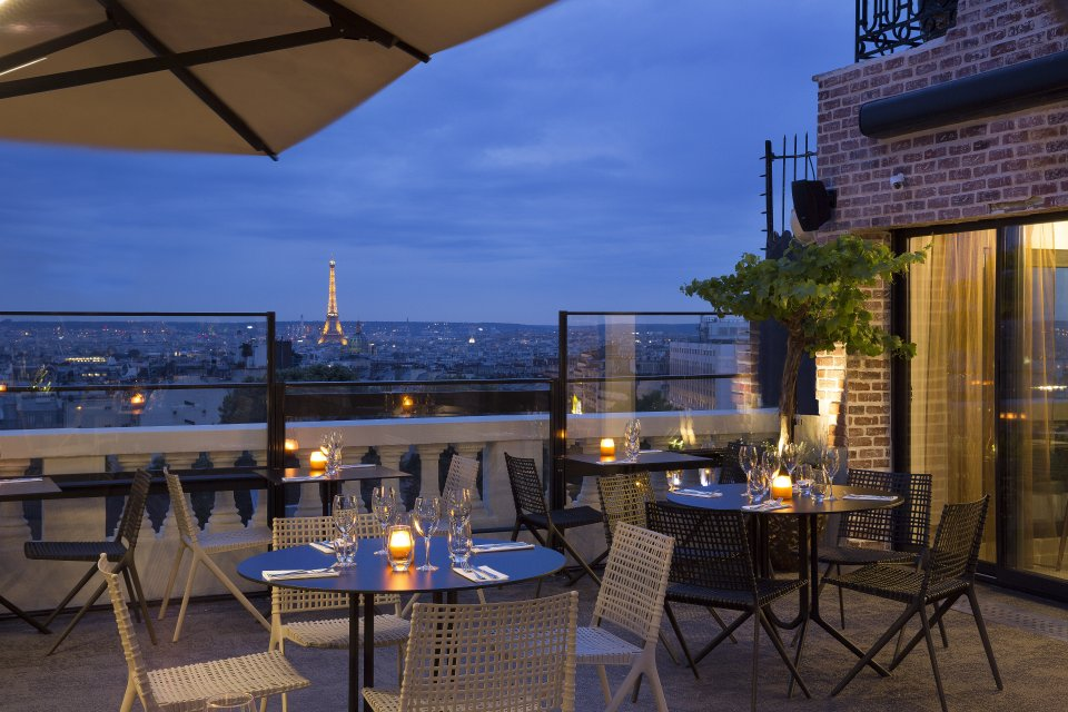 Bielsa-Bar rooftop terrass paris