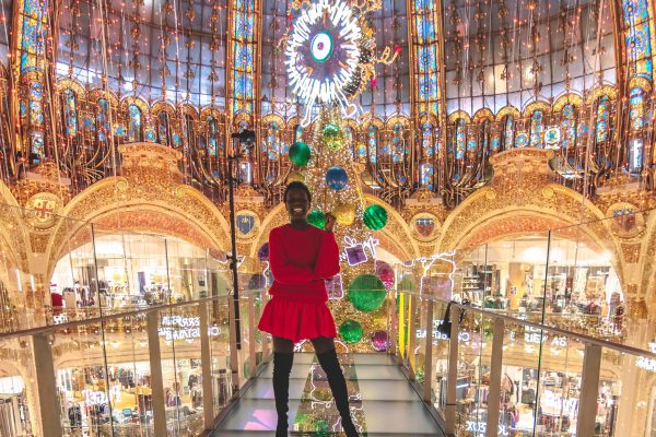 yanique galeries lafayette paris