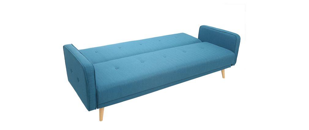 regarder 6a7d4 92b74 xcanape-convertible-3-places-design-scandinave-bleu-canard ...