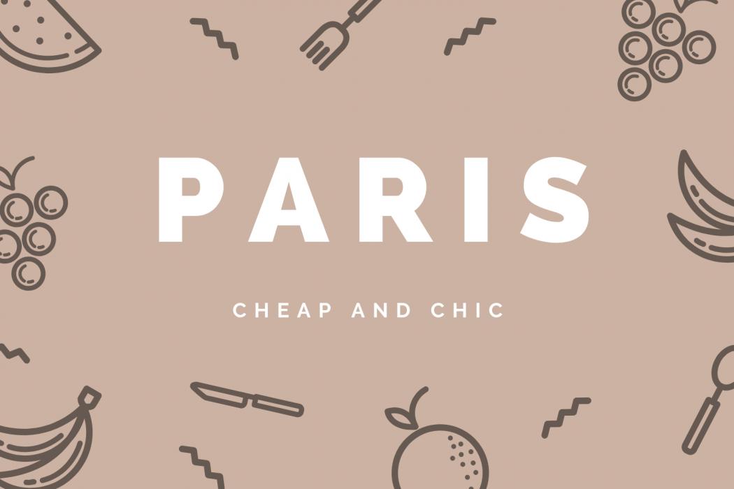 *NEW* CHEAP + CHIC PARIS eBook