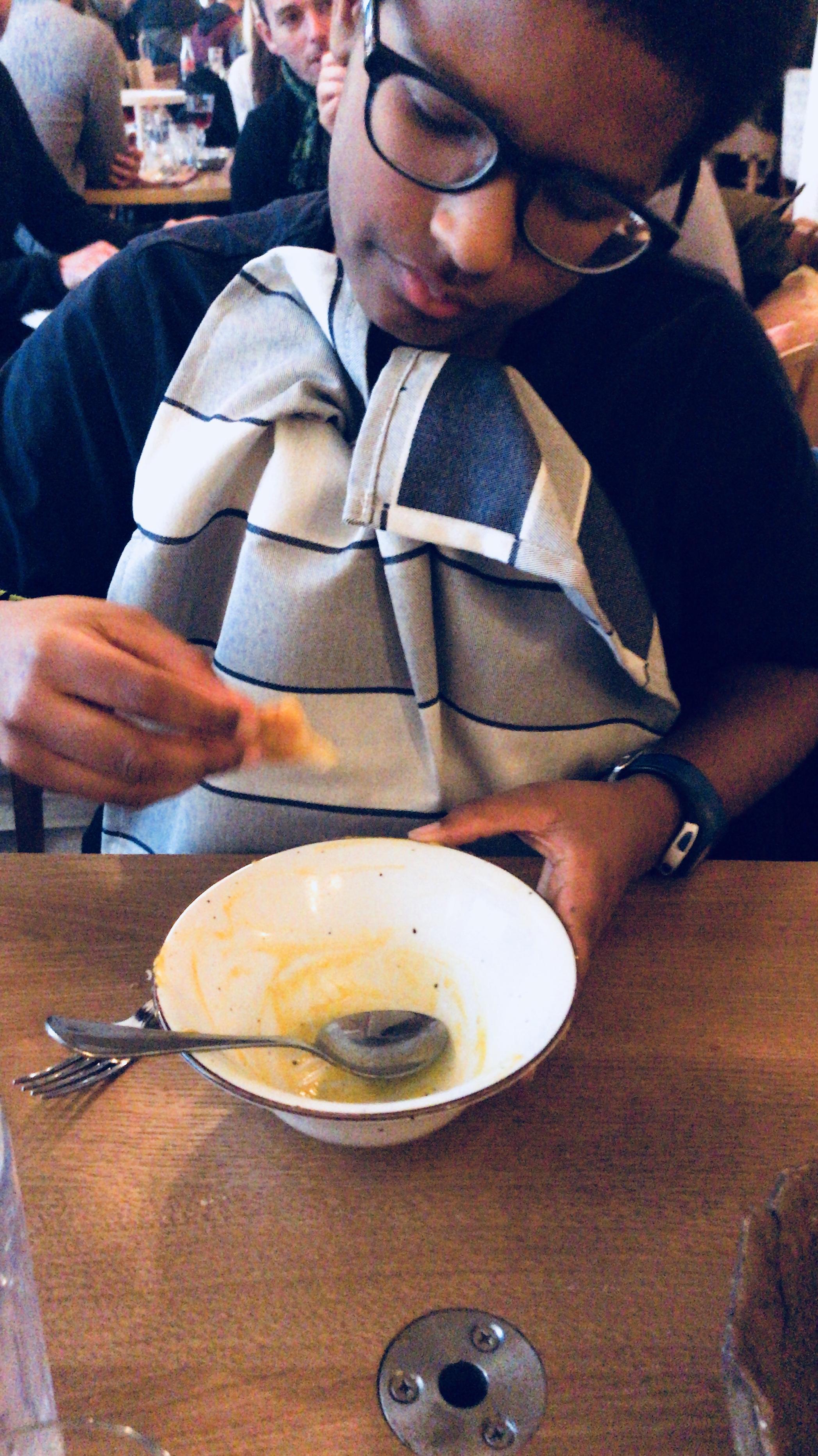 butternut soup winter paris