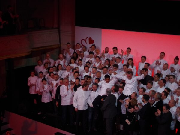 michelin star chef 2019 ceremony winners paris