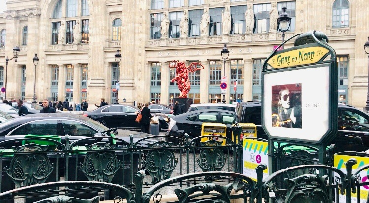 cool hotel paris gare du nord train station