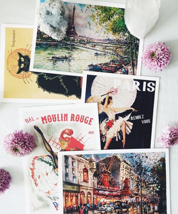 buy Vintage Paris Post Cards