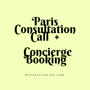 Paris Consultation Call + concierge Booking