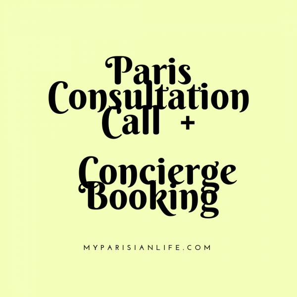 Paris Consultation Call + concierge Booking