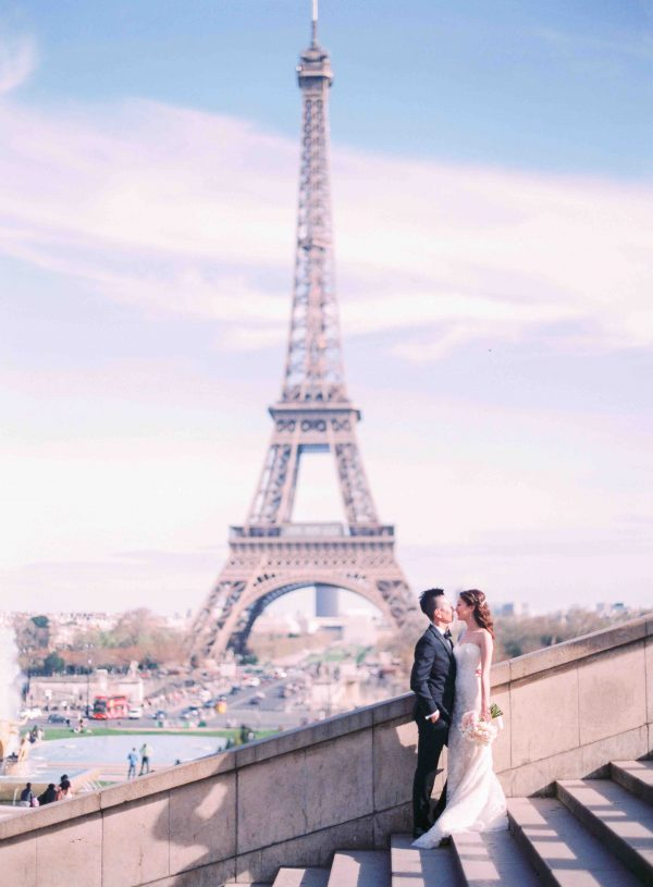 Romantic places in Paris